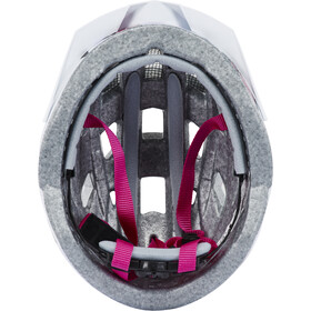 UVEX Air Wing Casco Niños, white/pink
